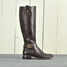 Michael Kors Women's Shoes Charm Riding Boots now available on our #ebay store for only US $158.99 New with box.  #shoes #boots #ridingboots #MichaelKors #designer #fashion #apparel #style #lifestyle #trendy #sale #shopping #discount #deals #gifts #women #womensboots #womensshoes #onlineshopping