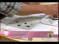 CW Artesanato - Carlos Saad - Sabor de Vida - TV Aparecida - Efeito Vitr...