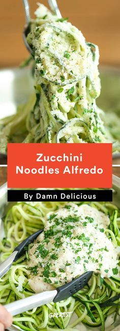 4. Zucchini Alfredo #healthy #quick #dinners http://greatist.com/eat/healthy-dinner-ideas-in-30-minutes-or-less