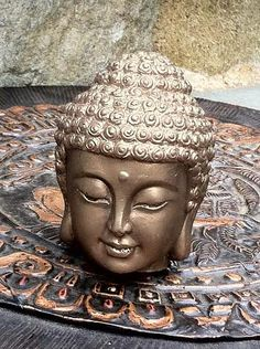 Buddha Statue Soap  Weight 9.5-10 Oz  Color Bronze Dark Brown With Golden Olive Undertone Gift Present  Shiny  With Kaoline Clay