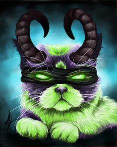 """You are not purr-pared!"" @Warcraft"