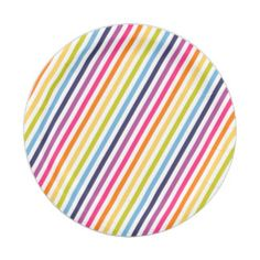 Rainbow Baby Shower 7 Inch Paper Plate