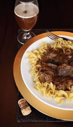 Carbonnade Flamande made with Trappist Ale