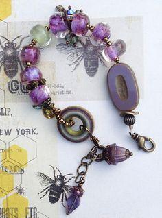 Radiant Orchid Palette Bracelet by Toni McCarthy 2014