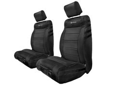 TrekArmor Front Seat Cover Pair in Black for 07-14 Jeep® Wrangler JK & JK Unlimited