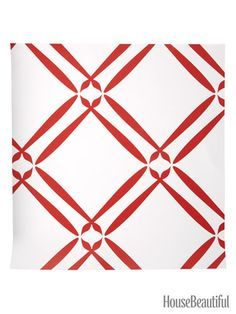 red and white wallpaper for walls - Google Search