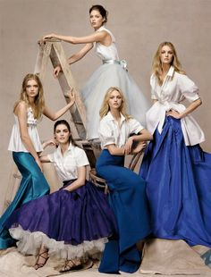 US Vogue May 2007 : The World's Next Top Models by Steven Meisel