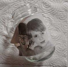 14 Transférer Des Photos, Wax Paper Transfers, Foto Transfer, Decorated Jars, Vintage Decor, Snow Globes, Decoupage, Mason Jars, Diy And Crafts