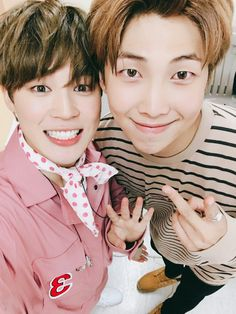 BTS 4th anniversary- RM and jimin