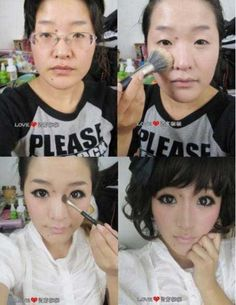 Make-up does amaaaazing things