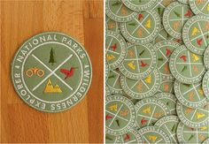 National Parks Explorer's Patch by ElloThere on Etsy