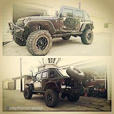 Cut up my #smittybilt #xrc tire carrier to make a slanted one.. by @stephenalcwood #jeepBEEF Beyond the Wave  #jeep #jeepjk #wrangler #Rubicon #texasdrivenjeeps #jeepfreaks #teraflex #rigidindustries #nitto #fueloffroad #beyondthewave #Padgram