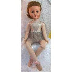 Vintage 1950s Nadia Ballerina - Paris Doll Co. #1791666