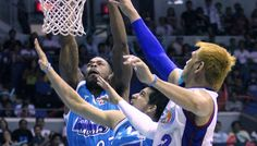 Big Game James Yap came up big down the stretch to lead the San Mig Coffee Mixers past Petron Blaze Boosters, 114-103, in Game Five of the PBA Governors' Cup finals at the SMART-Araneta Coliseum Sunday evening. #PBA2013