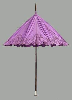 Parasol ca. 1910 via The Museum of Fine arts, Boston