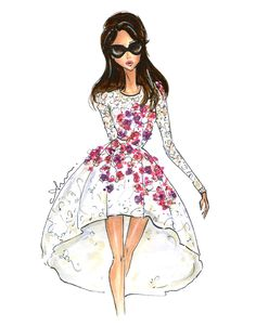Mrs. Clooney, by Anum Tariq - Amal Alamuddin in Giambattista Valli Fall 2014 Haute Couture