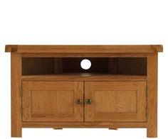 Bringy Furniture - Orkney Oak Corner TV Unit, £242.00 (http://www.bringyfurniture.co.uk/orkney-oak-corner-tv-unit/)