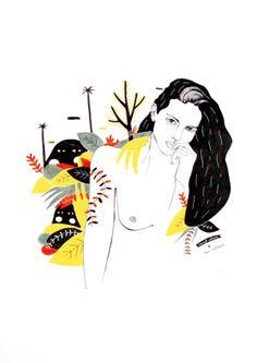 #illustration #fashionillustration #creativeexhibition #collaborativeexhibition #groupexhibition #illustratorsfrombarcelona #mixeur