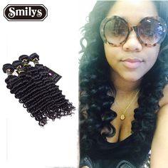 Indian Kinky Curly Virgin Human Hair Weave 4 Bundles 6A Indian Deep Wave Curly Hair extension hair bundles