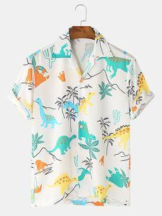 Mens Shirts Online, Shirt Sale, Collar Shirts, Printed Shorts, Casual Shirts, Clothes For Sale, Shirt Designs, Mens Tops, Banana Print