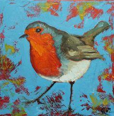 Whimsical Bird Art