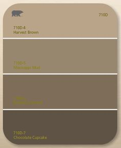 We Picked Harvest Brown By Behr The Top Colour As Throughout House