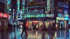 This collection of photos from Tokyo makes the city look like it came right out of a futuristic sci-fi film. The neon lighting and colors in these photos are striking.