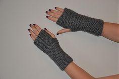 Fira / Rucne pletene rukavice s hrubym vzorem