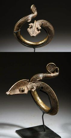 Burkina Faso | Bracelet from the Gan people | Bronze | c. 1960/1970 | 390€