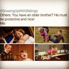 😄 😄 siblings day quotes, older brother quotes, sibling quotes brother, br Sibling Quotes Brother, Siblings Day Quotes, Brother Memes, Siblings Funny, Sibling Memes, Older Brother Quotes, Sister Quotes, Funny Sibling Pictures, Brother And Sister Memes