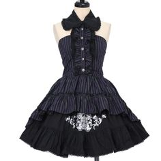 Worldwide shipping available ♪ PUTUMAYO ☆ ·. . · ° ☆ stripe dress + skirt https://www.wunderwelt.jp/en/products/%EF%BD%97-15694 IOS application ☆ Alice Holic ☆ release Japanese: https://aliceholic.com/ English: http://en.aliceholic.com/