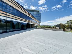 Luxury on the Level - Exemplary Project | Pasco's award-winning Buzon Pedestals were chosen for the Epworth Hospital Geelong project by architectural firm Silver Thomas Hanley, to assist in creating the large paved public pedestrian courtyards and plaza areas, as well as a series of terraces for public, patient and staff use.