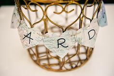 bird cage for envelopes wedding