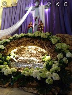Good Friday, Kirchen, Decoupage, Easter, Iglesias, Creative, Flower Arrangements, Feltro, Xmas