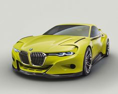 BMW 3.0 CSL Hommage is a concept car designed as a tribute to the iconic, timeless classic BMW coupe from 1970s.