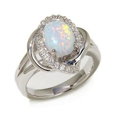 Colliding Galaxies Opal Ring