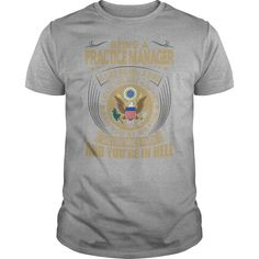 Being A Practice Manager Is Easy It's Like Riding A Bike Except The Bike Is On Fire T Shirt, Hoodie Practice Manager