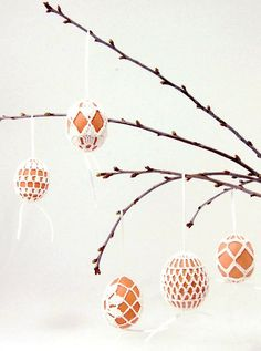 DIY crocheted easter eggs