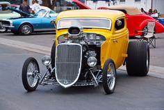 '33 Ford three window high boy coupe