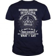 Awesome Tee INTERNAL AUDITOR Shirts & Tees #tee #tshirt #Job #ZodiacTshirt #Profession #Career #auditor