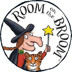 Room on the Broom- possible maths balance activity, literacy, sequence, pattern… Halloween Books, Halloween Activities, Autumn Activities, Fall Halloween, Halloween Worksheets, Library Activities, Preschool Activities, Preschool Printables, Julia Donaldson Books