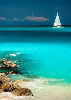 Leeward Beach, Turks & Caicos | With no resorts, you can walk seven miles uninterrupted along a usually quiet coastline that is perfect for your next swimming or snorkeling adventure.