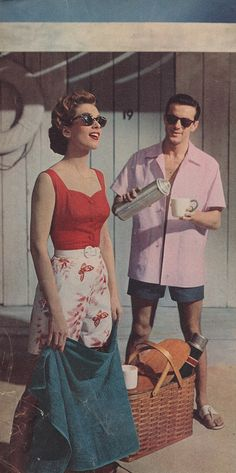 Vacation-time, 1955!