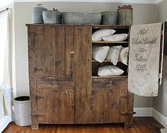Vintage furniture storage