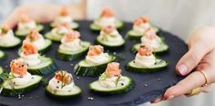 If you're looking for a delicious appetiser look no further than this recipe for cucumber and smoked salmon bites. Tasty, refreshing and so easy to make.