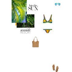 Bez tytułu #79 by izabelmaz on Polyvore featuring moda, kiini, K. Jacques, Straw Studios and Victoria Beckham