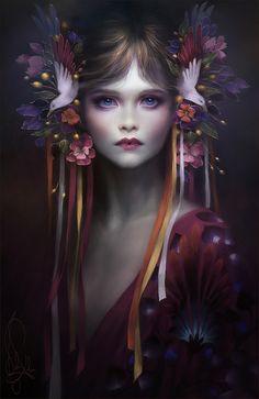 "A little something new :) ""Blossom"" Melanie Delon"