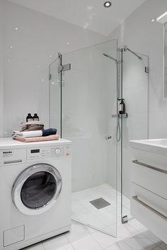inklusive tvättmaskin med inbyggd torktumlare