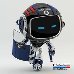 Police BOT, Vladislav Ociacia on ArtStation at https://www.artstation.com/artwork/police-bot-876184ba-95c0-4918-8c52-ecd55240df7c