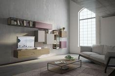 Soggiorni moderni, soggiorno industrial by Fimar